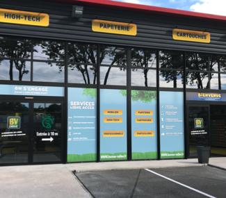 Concevoir la façade de son magasin à Gaillac