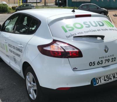 Covering / flocage de véhicules professionnels à Albi